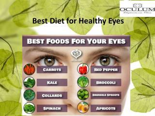 Best Diet for Healthy Eyes