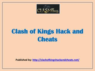 Clash Of Kings-Clash Of Kings Hack And Cheats