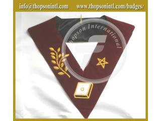 14 degree french rite collar Velvet