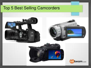 Top 5 Best Selling Camcorders