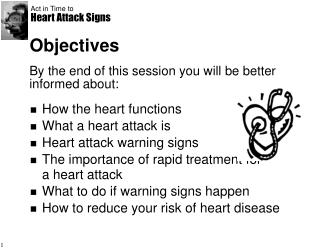 Act in Time to Heart Attack Signs