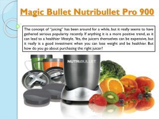 Magic Bullet Nutribullet Pro 900