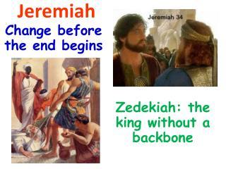 Jeremiah & Zedekiah