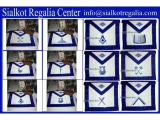 Blue lodge officer apron