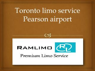 Toronto limo service Pearson airport