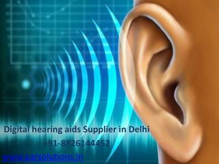 Hearing aid clinic in Delhi- EAR Solutions