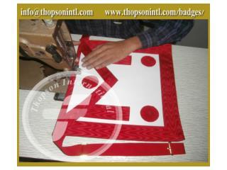 masonic french rite master mason apron
