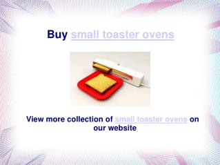 small toaster ovens
