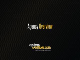 Custom Creatives - an Overview