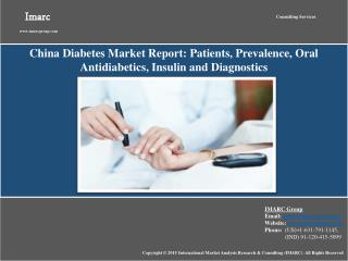 China Diabetes Market Outlook 2015-2020