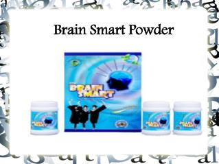 Brain Smart Powder