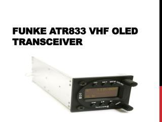 Funke ATR833 VHF OLED Transceiver