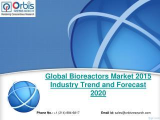 Global Bioreactors  Market Statistics & Industry Facts