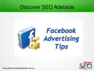 Benefits of Using Facebook Advertising Service At Discover SEO Adelaide