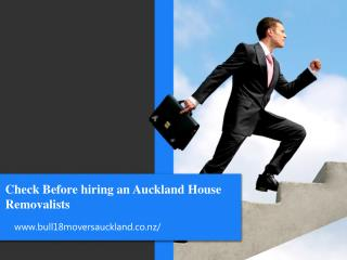 Checklist Before Hiring Removalists Services