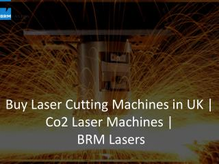Buy Laser Cutting Machines in UK | Co2 Laser Machines | BRM Lasers