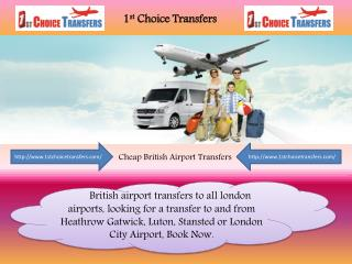 Cheap Taxis Services To Gatwick Airport