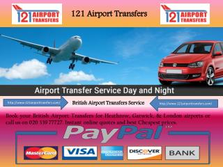 One of the Best London Airport Transfer Service