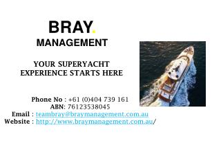 Enjoy Luxury Boat Hire with Bray Management