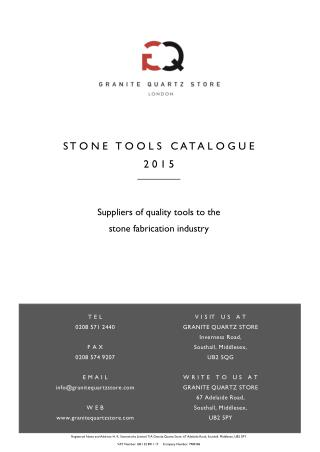 Granite Quartz Store - Stone Tools Suppliers in UK