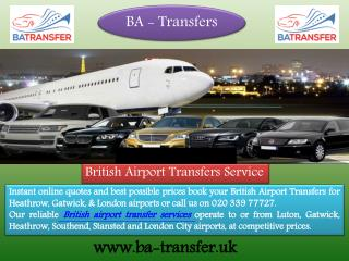 Taxi Service from Gatwick Airport To Heathrow Airport