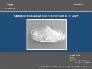 Global Sorbitol Market Report 2015-2020