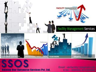 Leading Facility management Services in Gurgaon