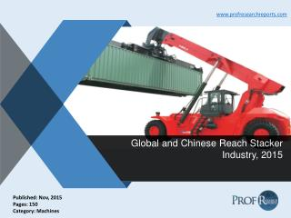 Reach Stacker Industry Size, Share, Trends 2015 | Prof Research Reports