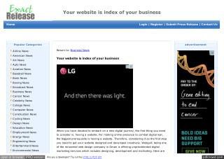 Your website is index of your business