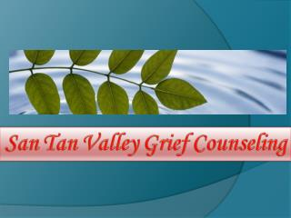 San Tan Valley Grief Counseling