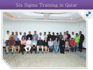 Six Sigma Training in Qatar