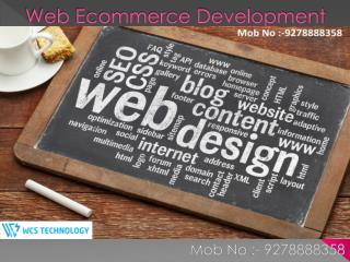 Web ecommerce Development@9278888358: -