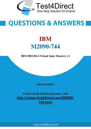 IBM M2090-744 Test Questions