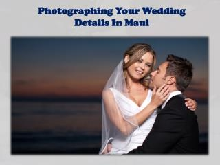 Photographing Your Wedding