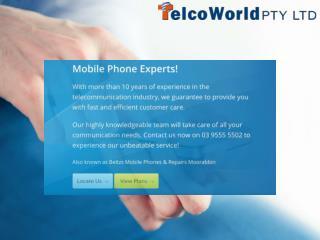 Telcoworld.com.au - Mobile Phone Experts