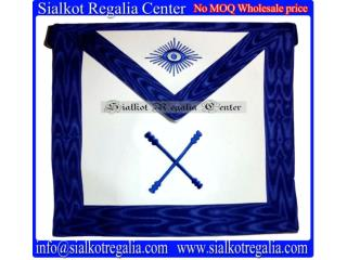 Blue Lodge Officer Apron - Marshal
