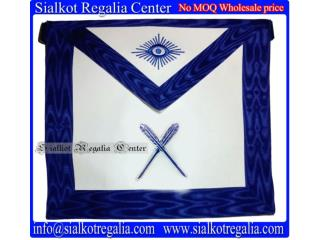 Blue Lodge officer Apron - Secreatry