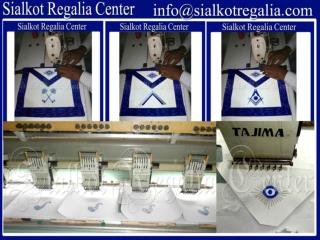 Officer Apron set Blue Lodge