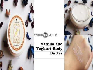 Vanilla and Yoghurt Body Butter