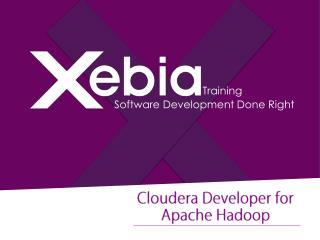 Authorized Cloudera Training partner in India