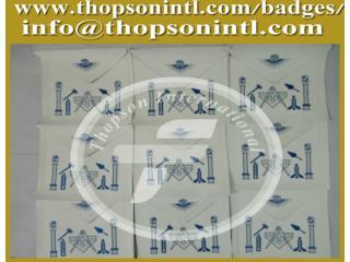 Blue lodge apron