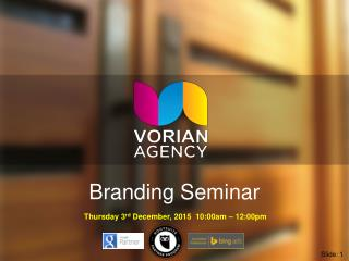 Brand Marketing Training Seminar by Matt Lynch Perth SEO Specialist