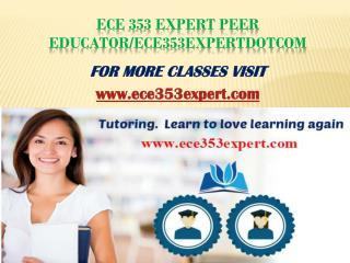 ece 353 expert Peer Educator/ece353expertdotcom