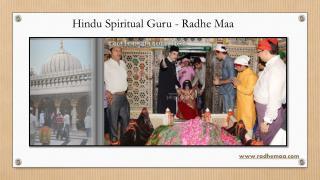 Hindu Spiritual Guru - Radhe Maa