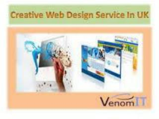Creative Web Design Services In UK