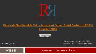 Global & China ADAS Industry Analysis Report 2015