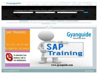 sap fico training in bangalore