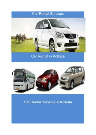 Luxury Car services in Kolkata