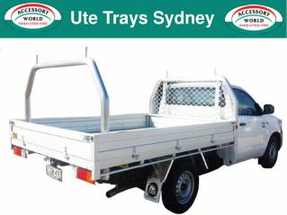 Ute Trays Sydney