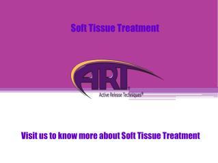 Soft Tissue Treatment